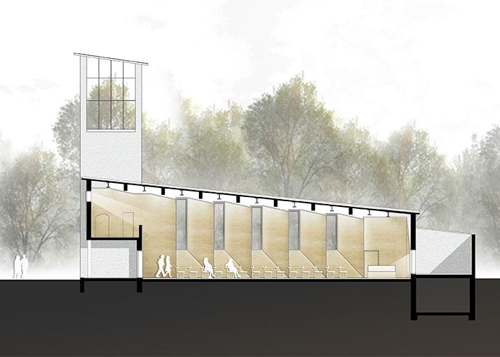 kaestle&ocker - Umbau Aussegnungshalle und Aufbahrungsgebäude