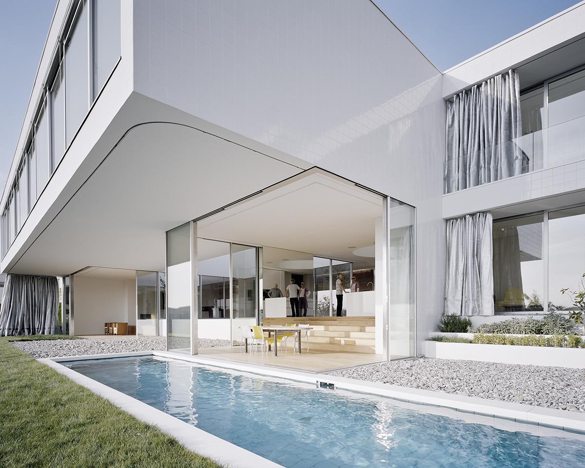 Kaestle ocker haus mit atelier - German style house plans open design ...