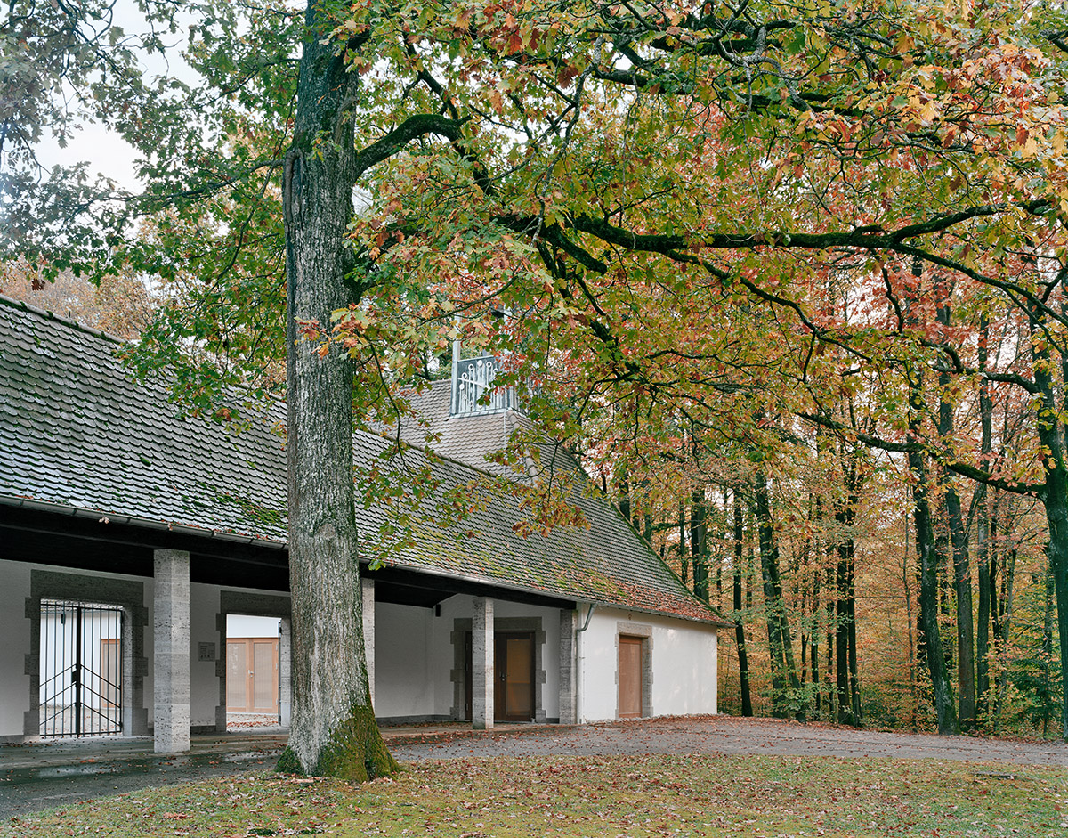 kaestle&ocker - Aussegnungshalle Waldfriedhof