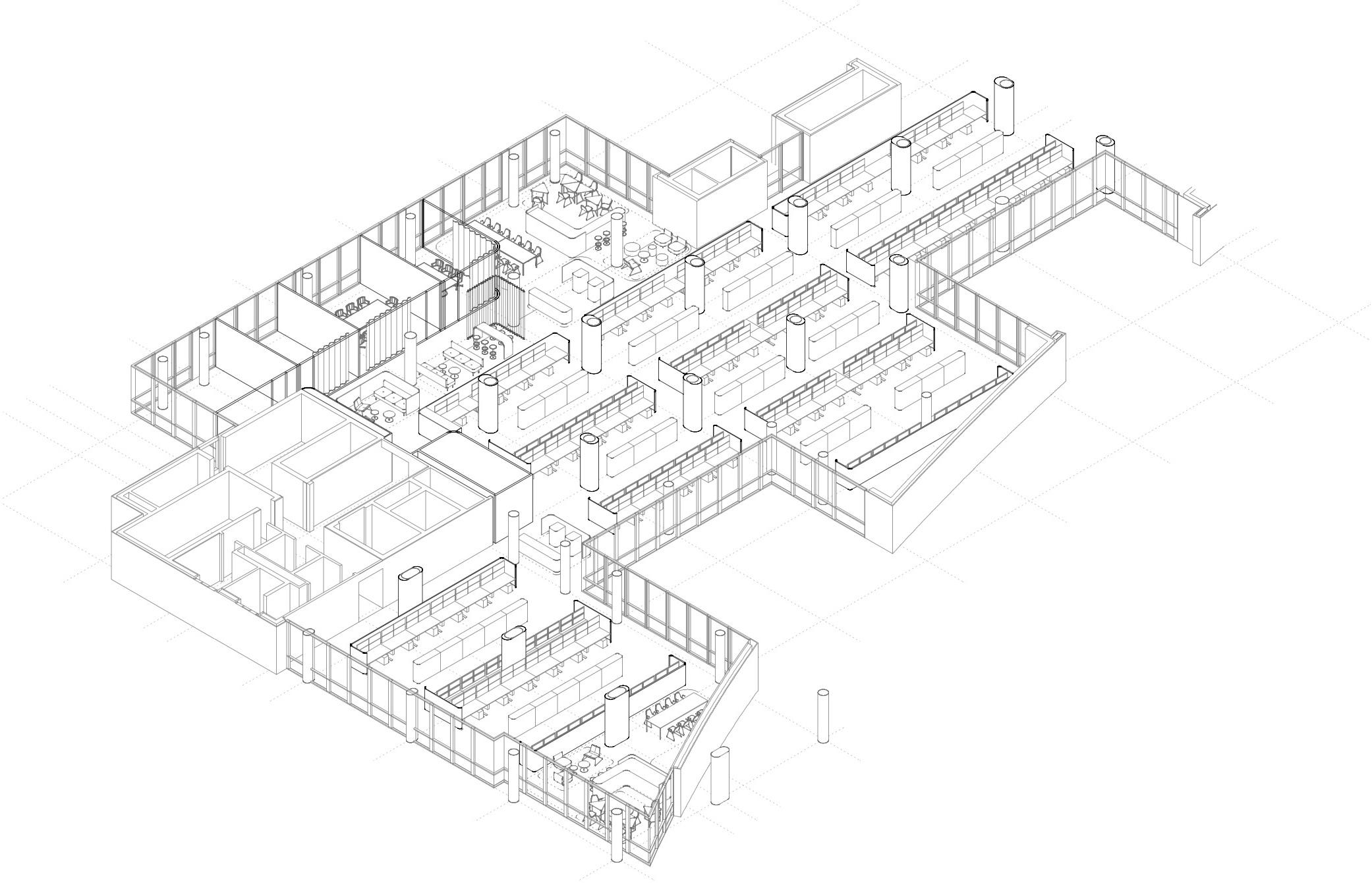 kaestle&ocker - Umbau Handelsarbeitsplatz der Zukunft