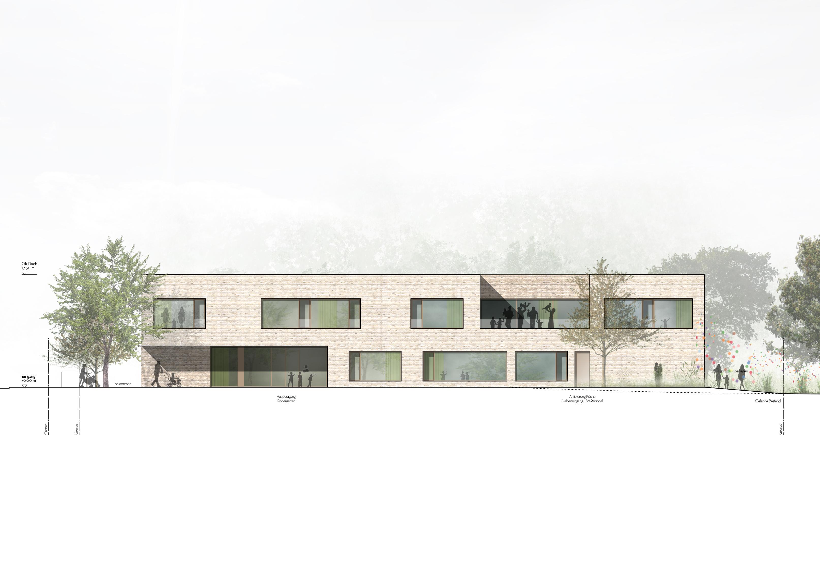kaestle&ocker - Neubau kath. Kindertagesstätte Mariä Himmelfahrt