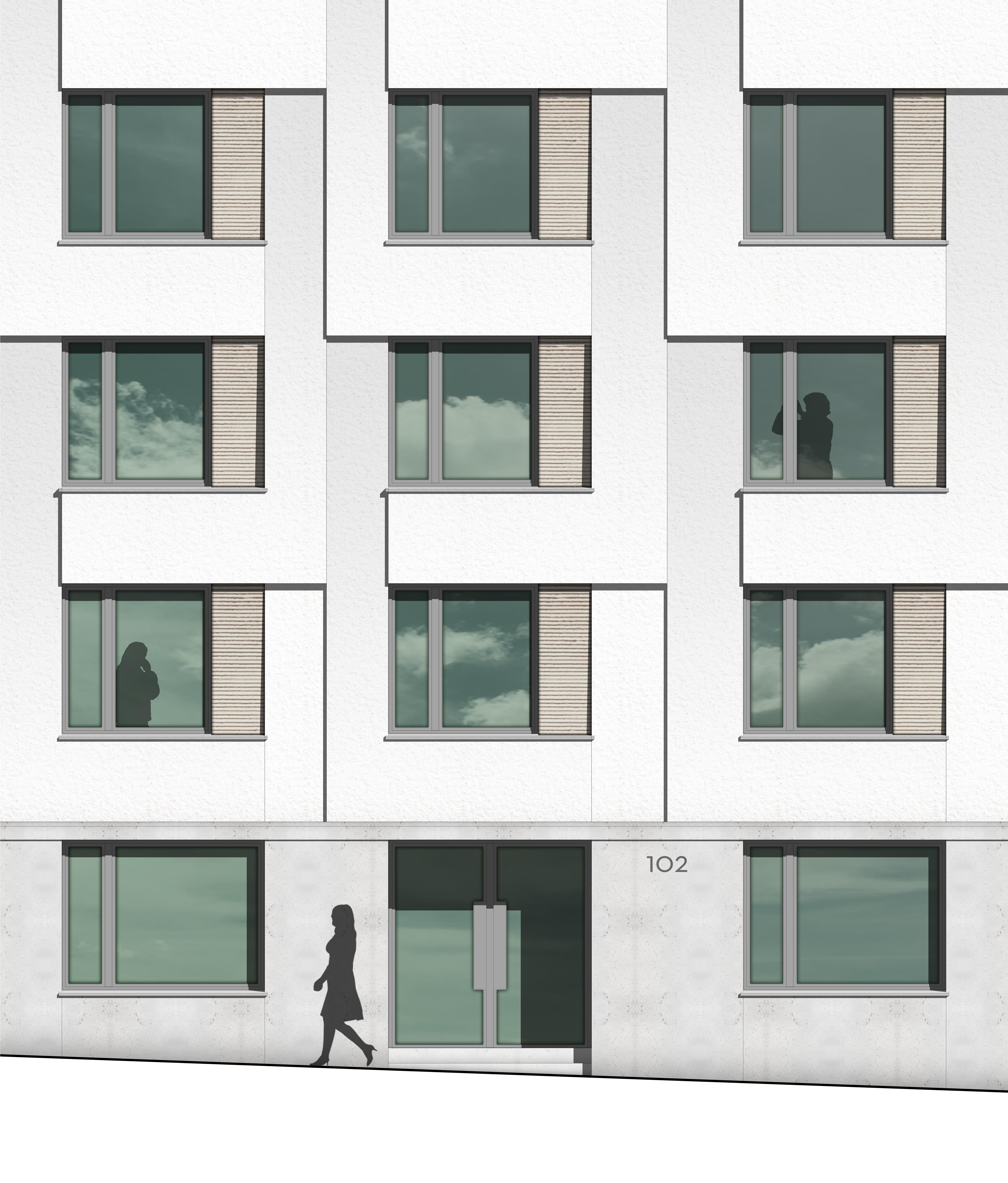kaestle&ocker - Machbarkeitsstudie Personalwohngebäude Klinikum Stuttgart