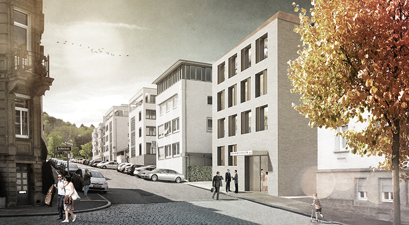 kaestle&ocker - Neubau Bürogebäude Versorgungswerk Architektenkammer Baden – Württemberg