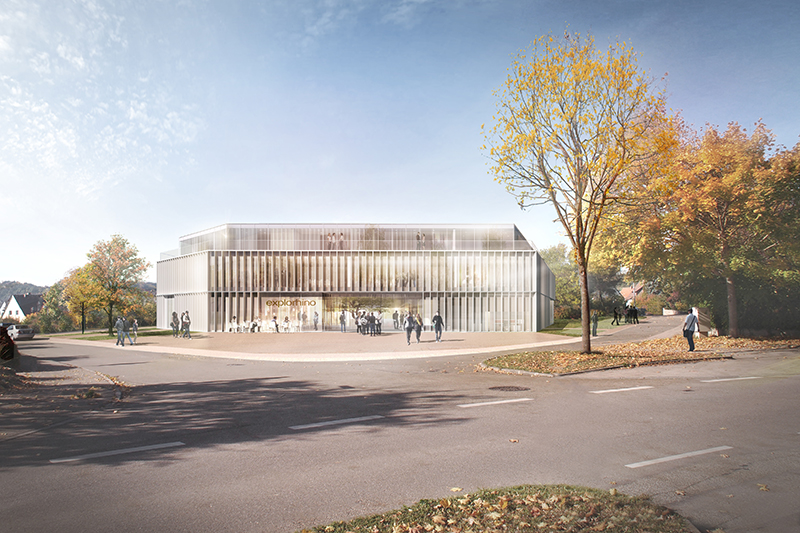 kaestle&ocker - Neubau explorhino – Werkstatt junger Forscher an der Hochschule