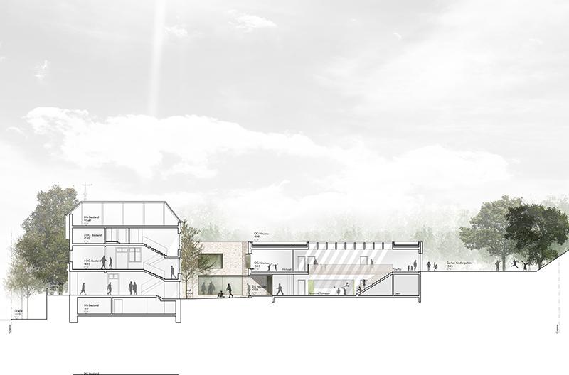kaestle&ocker - Umbau und Erweiterung Kinder- und Familienzentrum