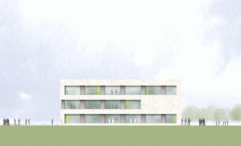 kaestle&ocker - Neubau des Beruflichen Schulzentrums Neusäß